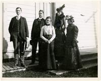 New Whatcom High School teaching staff, November 1900