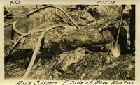 Lower Baker River dam construction 1925-07-13 Rock Surface E. Side of Dam Run #160