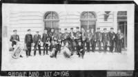 Baidauf Band, July 4th 1916, at Bellingham Federal Building