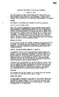 WWU Board minutes 1957 October