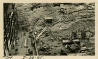 Lower Baker River dam construction 1925-02-22