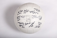 Volleyball (Women's): WWU signed Volleyball, 1990