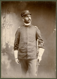 Studio portrait of Col. John J. Weisenburger in military uniform