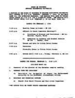 WWU Board minutes 1990 February