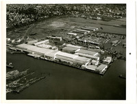 Aerial view of Bellingham harbor