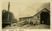 Lower Baker River dam construction 1924-09-15 Storage building