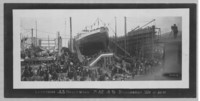 Launching of the S.S. Hollywood, Bellingham
