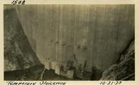 Lower Baker River dam construction 1925-10-21 Temporary Sluiceway