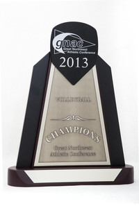 Volleyball (Women's) Trophy: GNAC Champions, 2013