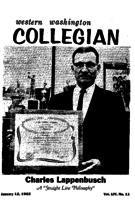 Western Washington Collegian - 1962 January 12