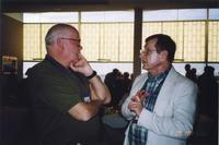 2007 Reunion--Reception Attendees Visit