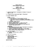 WWU Board minutes 1976 October