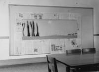1944 Preparing A Mural
