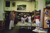 2007 Reunion--The Erling Freebergs and Carlin Freebergs Visit Special Collections