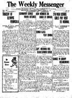 Weekly Messenger - 1921 March 25