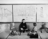 1930 Japanese Domestic Scene--Tea Ceremony  (Second Grade)