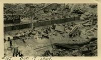 Lower Baker River dam construction 1924-10-17 Leveling pour