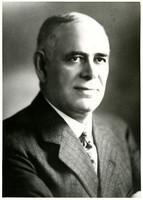 Studio portrait of Frank W. Burpee