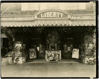 Exterior of Liberty Theater, Lynden, Washington