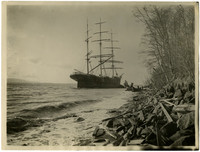 Ship Carleton Ashore, December 27, 1904