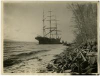 Ship Carleton Ashore, December 27, 1904