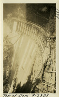 Lower Baker River dam construction 1925-09-23 Top of Dam
