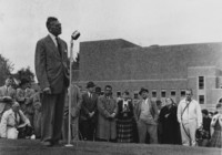 1958 Haggard Hall Groundbreaking