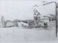 1961 Viking Commons: Architect's Drawing