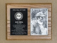 Hall of Fame Plaque: Bob Diehl, Coach, Class of 2003