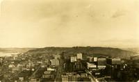 Seattle skyline in 1918