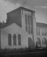 1943 Campus School Building, Main Entrance Tower