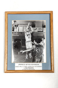 Basketball (Men's) Photograph: Jared Stevenson, WWU all-time leading scorer, 1999/2000