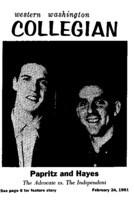 Western Washington Collegian - 1961 February 24