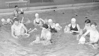 1947 Kindergartners Learn to Swim