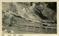 Lower Baker River dam construction 1924-08-23 Coffer dam