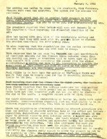 AS Board Minutes 1952-01