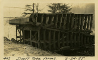 Lower Baker River dam construction 1925-03-24 Draft Tube Forms