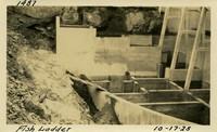 Lower Baker River dam construction 1925-10-17 Fish Ladder