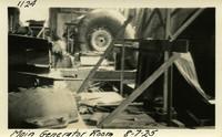 Lower Baker River dam construction 1925-08-07 Main Generator Room