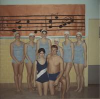 "Blue Barnacles Swim Club, ""Members of the Blue Barnacle Swim Club"""