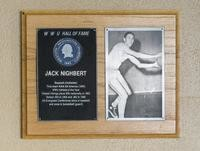 Hall of Fame Plaque: Jack Nighbert, Baseball (Outfielder), Class of 1979