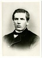 Formal studio portrain of young Charles X. Larrabee