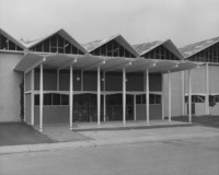 1962 Carver Gym: Entrance