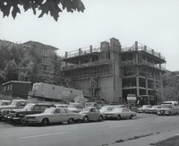 1969 Addition Construction View From Garden Street
