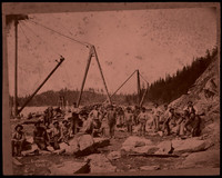 Chuckanut Quarry - group of workers