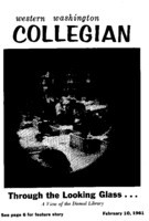 Western Washington Collegian - 1961 February 10