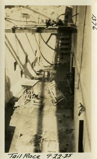Lower Baker River dam construction 1925-09-22 Tail Race