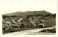 Southeasterly vista of Happy Valley, south Bellingham, Washington
