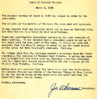 AS Board Minutes 1938-03