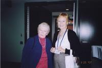 2007 Reunion--Barbara (Berglund) Bosse and Joan Roberts